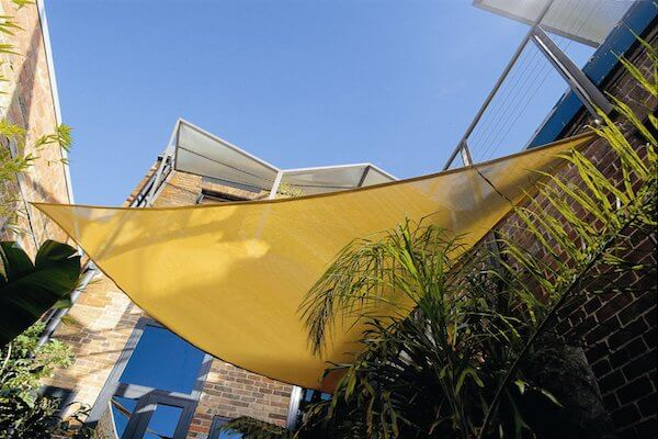 CPREMTR360_SAND, protection solaire - voile d