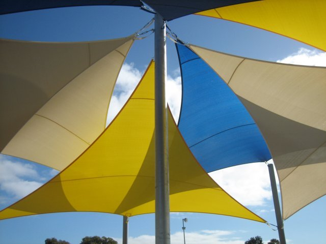 protection uv - shade sail - voile d'ombrage