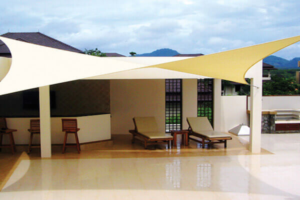 CCOMSQ540, protection solaire - voile d
