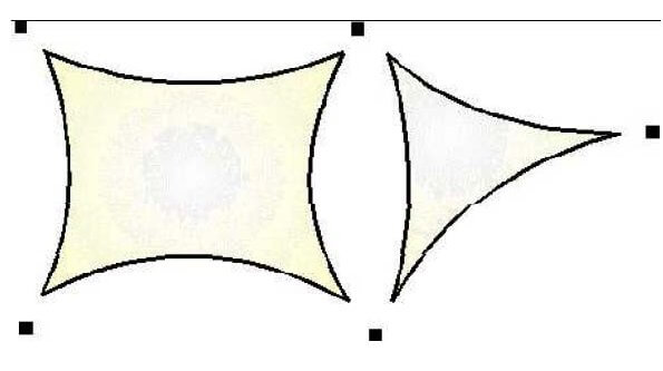 protection solaire - voile d'ombrage triangulaire-in1